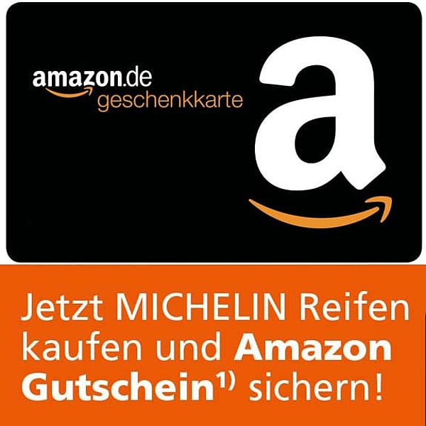 Michelin AMAZON Gutscheinaktion